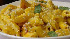 pompoenpasta met pancetta en salie 1