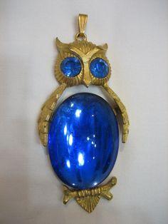 Gorgeous Signed Vintage Dodds Cobalt Blue Belly by CLASSYBAG