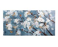 Lienzo Flores - 120x60 cm
