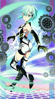 Kawaii Anime Girl, Anime Art Girl, Manga Art, Character Art, Character Design, Sword Art Online Wallpaper, Sword Art Online Kirito, Animes Wallpapers, Online Art