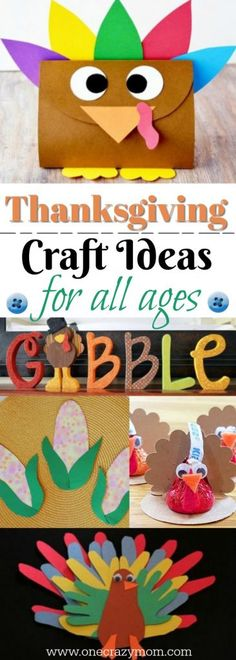 Thanksgiving Craft Ideas - 15 Easy Thanksgiving Craft Ideas for Kids