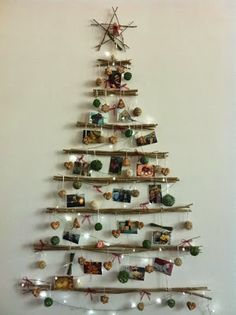 wooden Christmas tree ideas1