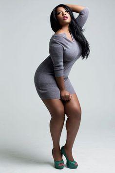 Plus size model Joanne Borgella she better Work #dotspintowin