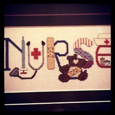 Nurse Cross Stitch.