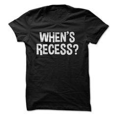 When's Recess?