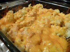 Cauliflower 'Mac' and Cheese Casserole Recipe via @SparkPeople