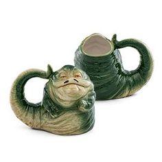 Star Wars Jabba the Hut 20oz Sculpted Ceramic Mug | ThinkGeek