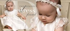 baby girl baptism dresses | Christening Dresses for Girls – Cotton & Silk Dresses ...