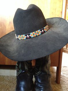 Hatband please go like my page CY Beadwork on Facebook :)))