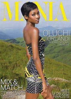 music-sports-fashion-africa:    Oluchi Orlandi on the cover of StyleMANIA magazine