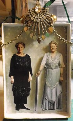 Lady Crawley and the Countess Dowager