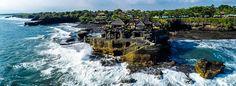 Pilgrimage temple Pura Tanah Lot in Bali! #Indonesia #Bali #PuraTanahLot #TanahLotTemple