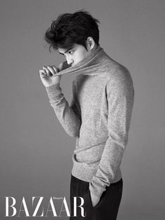 Kim Jaejoong | Harper's Bazaar Magazine (February Issue)