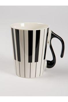 Piyano Kupa Porselen