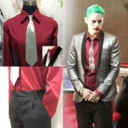 Suicide Squad The Joker Costume Cosplay Suit Silver Jacket Coat Psychos Killers Joker Costume, League Of Legends, Squad, Ronald Mcdonald, Cosplay, Costumes, Suits, Best Deals, Coat
