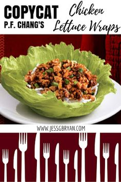 How to make P.F. Chang's chicken lettuce wraps at home