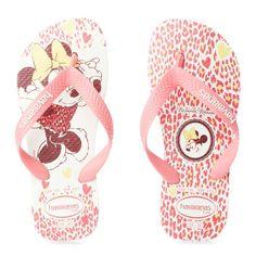 Havaianas Kids Minnie White   Sand Dollar Dubai - Beach / Swimwear Online Store