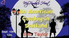 "Cat's Reviews: ""An American Cowboy in Scotland"" (Em Taylor)  ★★★★..."