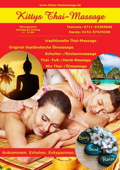 Kitty´s traditionelle Thaimassage in Stuttgart: Thai Massage Esslingen - Kitty´s Thaimassage Stutt...