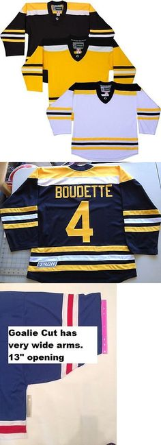 Men 159122: Team Lot/Set Of 10 Boston Bruins Tron Hockey Jerseys Blank Or With Name And Number -> BUY IT NOW ONLY: $225.0 on eBay!