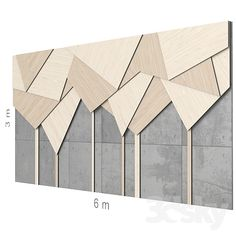 models: Other decorative objects - Decorative wall texturadas madera Feature Wall Design, Wall Panel Design, Office Wall Design, Decorative Wall Panels, Decorative Objects, Modelos 3d, Wall Finishes, Wall Cladding, Creative Walls