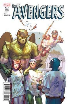 Avengers Variant by Yasmine Putri Next Avengers, Avengers Art, Young Avengers, Comic Book Covers, Comic Books Art, Comic Art, Book Art, Quicksilver Comics, Marvel Dc