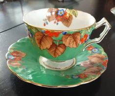 #9 Aynsley Green Tea cup and Saucer