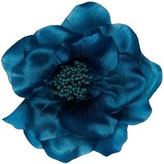 John Lewis Large Corsage, Turquoise ($12) ❤ liked on Polyvore featuring flowers