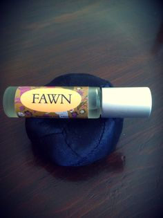 Fawn - deer medicine - springtime 1/3oz Perfume roll on - Vintage, Gentle, Intriguing - Spanish moss, tangerine, musk, heliotrope, cedarwood on Etsy, $15.00 AUD