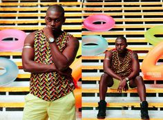 Moda África Masculina