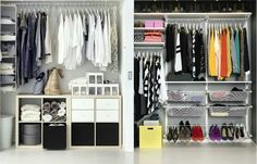 Making life easier. Hanging, folding & piling your clothes in a more manageable way.