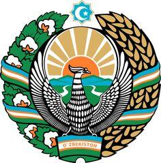 Archivo: Escudo de armas de Uzbekistan.svg