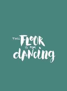 This floor is for dancing | happy page | vtwonen 10-2017 | print 'm uit, stijl op jouw manier, maak een foto en deel met #vtwonenbijmijthuis