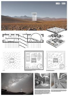 Fomichev Andrew (Moscow Architectural Institute/Russia) | Competition project for International Museum of Astronomy in Atakama, Chilie. IMOA - 1999 | Arquideas