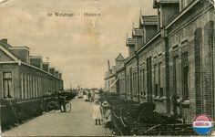 Huizum (Leeuwarden): De Wetstraat begin jaren 30