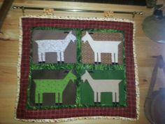 Goat quilt