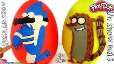 Huevos Sorpresa Gigantes de Mordecai y Rigby de Un Show Más Historias Co...