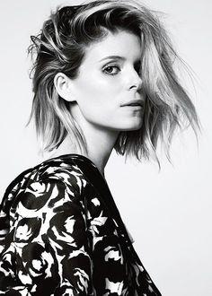""" Kate Mara photographed by Alisha Goldstein for Glamour UK """