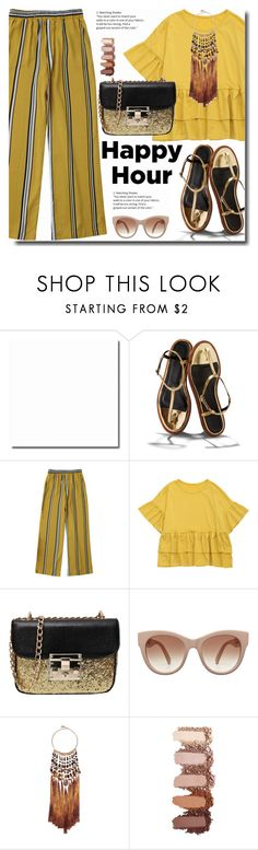 """""""Happy hour"""" by soks ❤ liked on Polyvore featuring TIBI and Rosantica"""