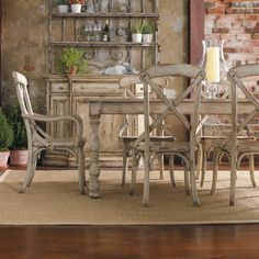 Amelie White French Style Dining Table Set