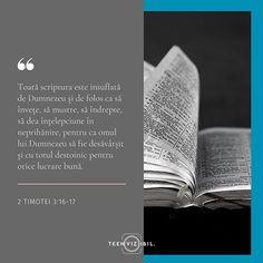 Cuvântul lui Dumnezeu este ca o oglindă în care putem privi pentru a vedea ce ar trebui schimbat în viața noastră. Zilnic acesta dezvăluie motivele inimii noastre indică greșelile și păcatele noastre și cere schimbarea noastră.  Când privim în oglinda Cuvântului lui Dumnezeu avem două opțiuni: plecăm și nu facem nimic cu ceea ce am văzut sau facem ceea ce spune și ne punem viața în ordine.  Te-ai uitat astăzi în oglinda adevărului? Tu ce alegi astăzi sa faci?  #teenvizibil #hope #faith… Leo Zodiac Facts, Pisces Zodiac, Francis Chan, Stay Strong Quotes, Moise, New Beginning Quotes, Friendship Day Quotes, Beth Moore, Teen Quotes