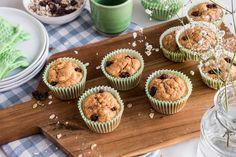 Start dagen med sunne og saftige muffins! Oppskriften finner du her.