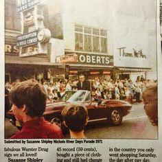 River Days Portsmouth Ohio 1971