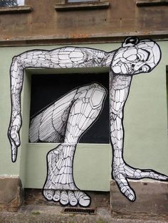 By the street artist GAB. In Leipzig, Germany