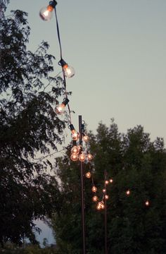 Make outdoor entertaining this Summer extra special with this supereasy (and cheap!) DIY for outdoor string lights.