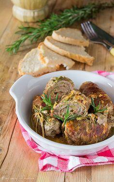 Involtini di carne con Speck e zucchine