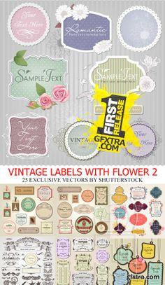 Amazing SS - Flower vector 2, 28xEPS | logo | Pinterest | Flower