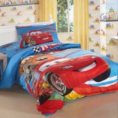 disney pixar cars twin bed spread king queen size full sheet set