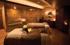 Heim Spa Einrichten Wanne Massagen Betten-Kerzen