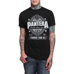 Pantera Hostile Logo T-Shirt   Hot Topic